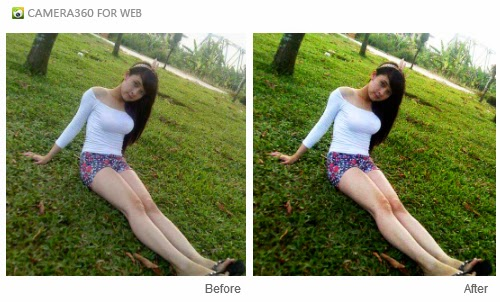 edit foto Camera360