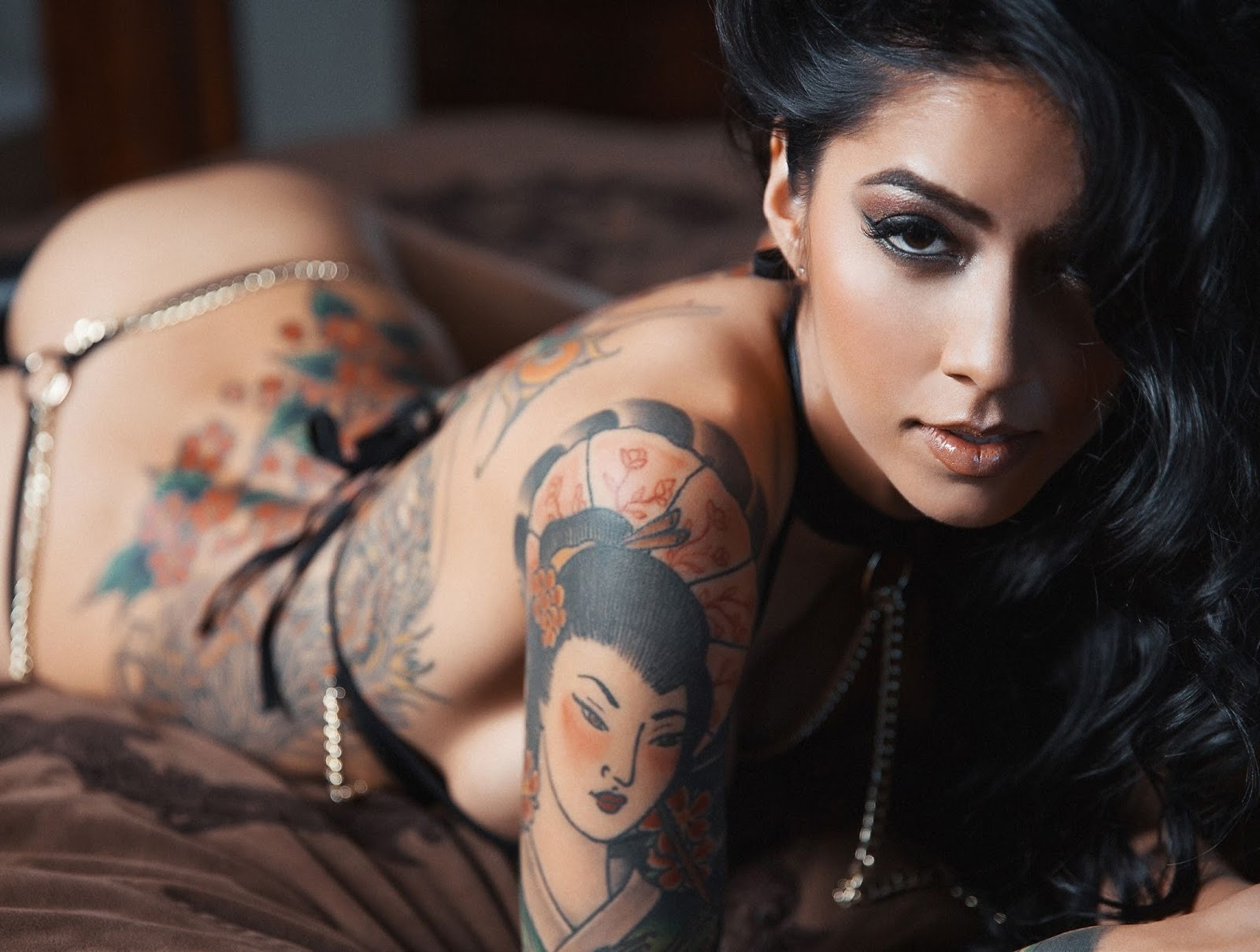 Inked sexy and nude women, nerdy girl sexy hot porn