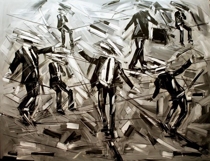 Итальянский художник. Marco Tamburro