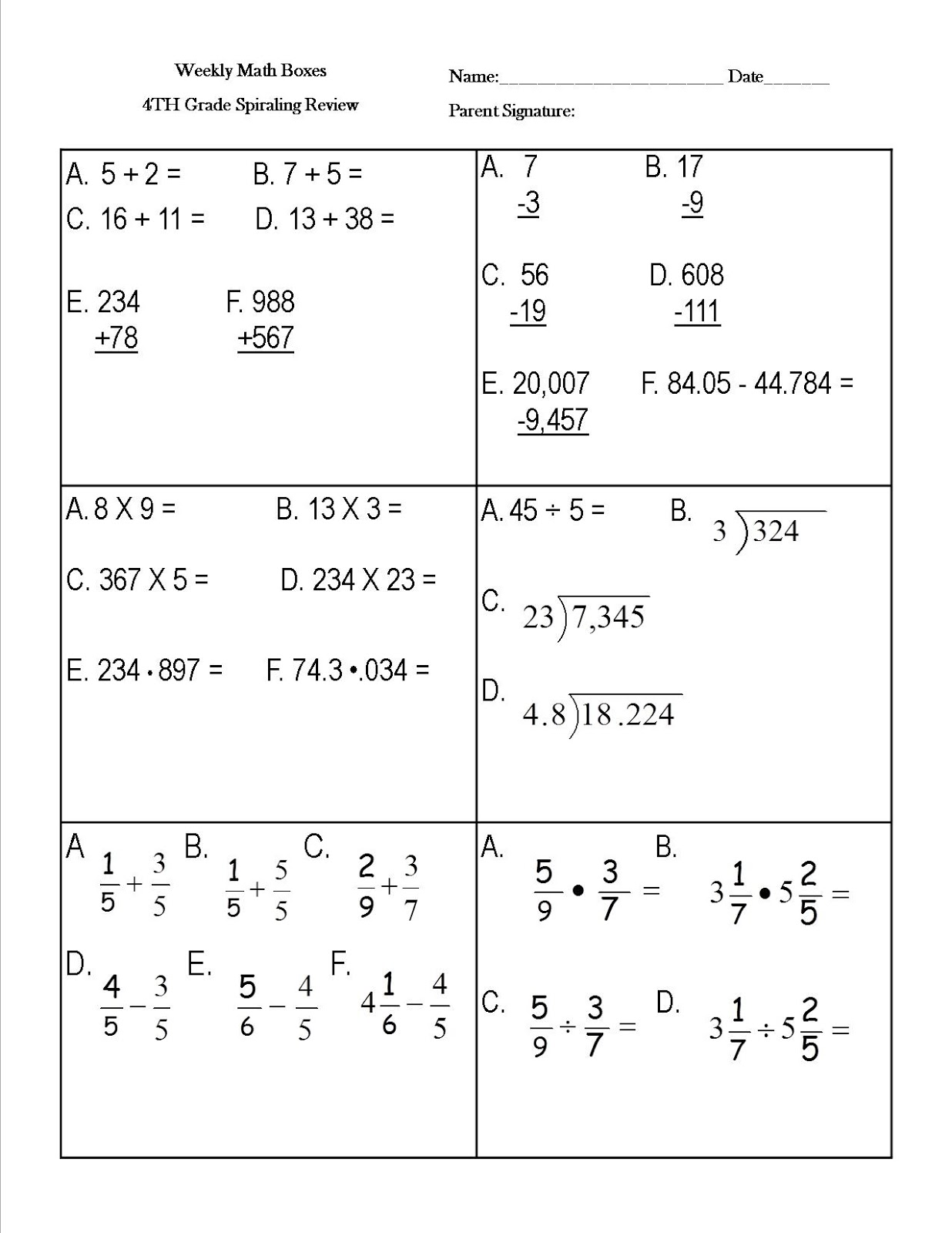 Math Worksheets For Third Grade Students Reading Sage How To Raise Map Math Scores  Nwea Math Test Scores Difference Of Two Squares Worksheet Pdf with Printable French Worksheets Pdf Daily Math Vocabulary Review Math Worksheets For Year 5
