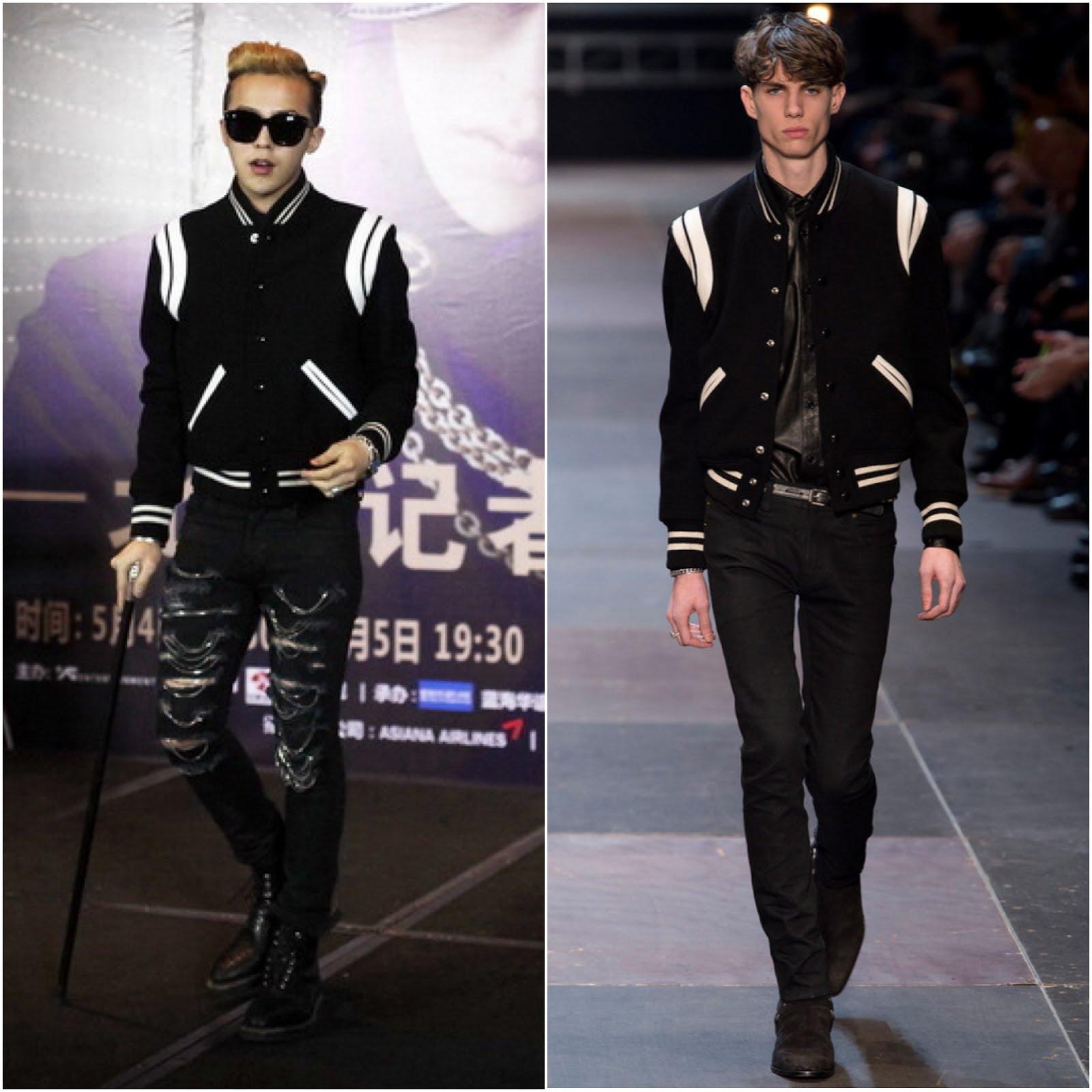 What's He Wearing?: South Korean Artiste G-Dragon In Saint