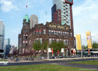 Dicas de roteiro por Rotterdam - Hotel New York