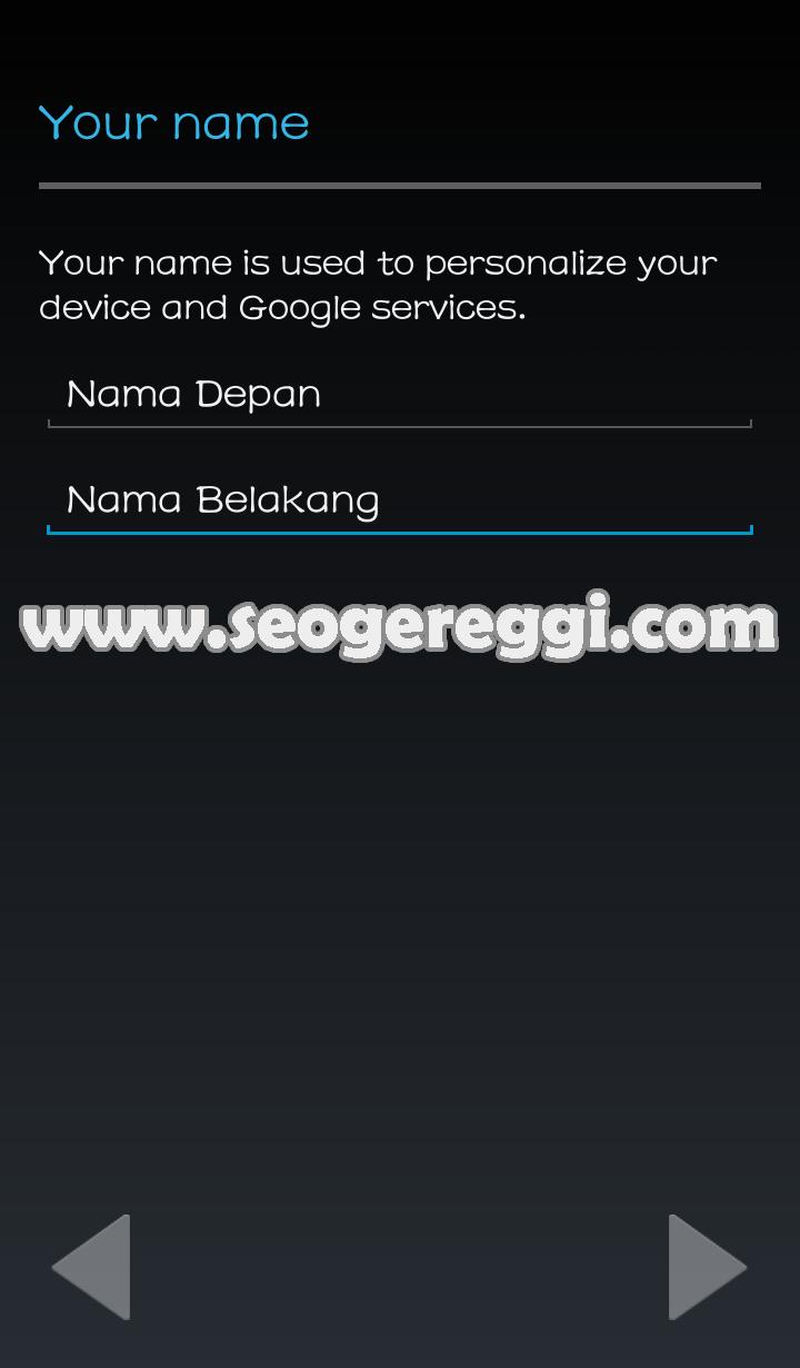 Membuat Akun Gmail di Handphone Android