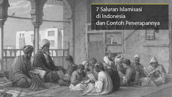 Saluran Islamisasi di Indonesia