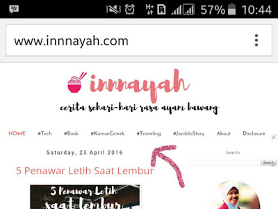 Cara membuat menu di bawah header, menu, tab menu, tutorial, tips blog