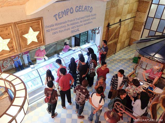 Tempo Gelato Yogyakarta Review