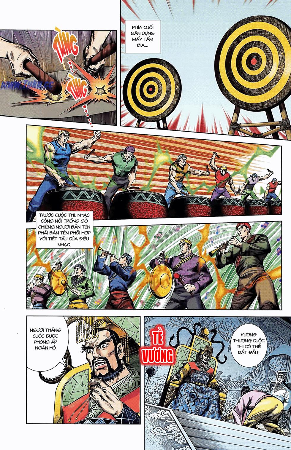 Tần Vương Doanh Chính chapter 6 trang 16