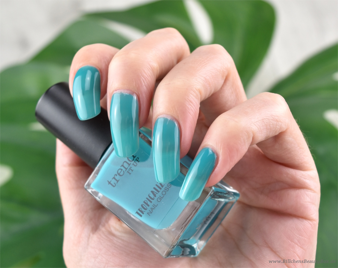 trend IT UP - Tropicalize Limited Edition - Nail Gloss - 020 - Review und Swatches
