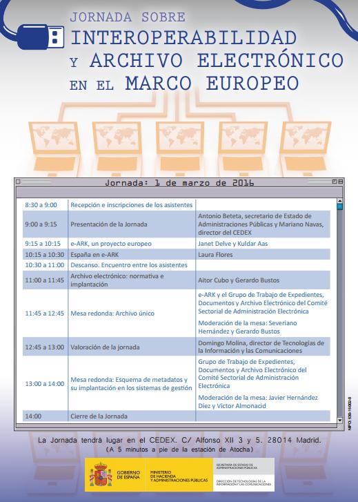 Docufilos: Jornada sobre Interoperabilidad y Archivo Electrónico en ...