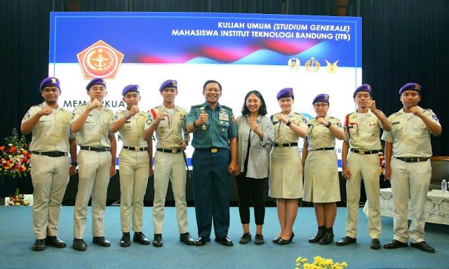 Panglima TNI : Generasi Penerus Bangsa Dituntut Responsif Menyikapi Perubahan Zaman