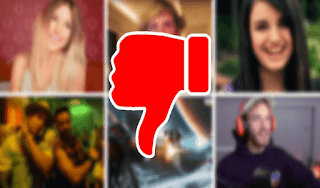 أكثر 5 فيديوهات حصلت على عدم الإعجاب على اليويتوب