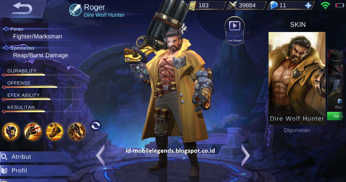 Item Build Roger Mobile Legends: Mode Manusia Serigala