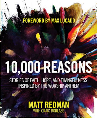 Picture of the cover of Redman's book, 10,000 reasons.      Bless the Lord O my soul, O my soul. Worship His holy name.  Sing like never before, O my soul. I'll worship Your holy name. 1  The sun comes up, it's a new day dawning.  It's time to sing Your song again.Whatever may pass and whatever lies before me,  let me be singing when the evening comes.  2  You're rich in love and You're slow to anger.  Your name is great and Your heart is kind. For all Your goodness I will keep on singing,  Ten thousand reasons for my heart to find.  3  And on that day when my strength is failing,  The end draws near and my time has come,  Still my soul will sing Your praise unending,  Ten thousand years and then forevermore.
