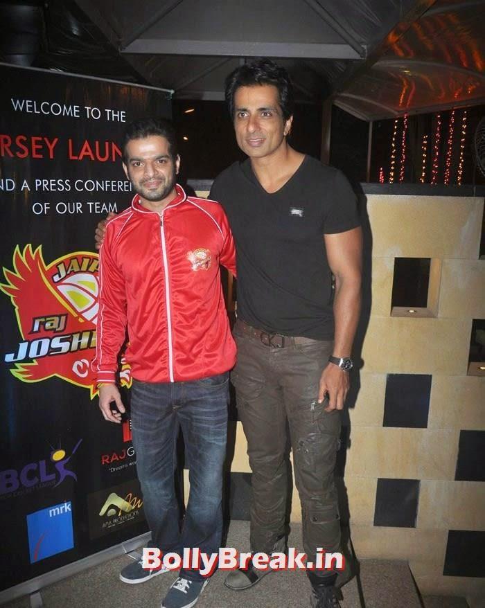 Karan Patel, Sonu Sood, Photos From Jaipur Raj Joshilay Team Jersey Launch