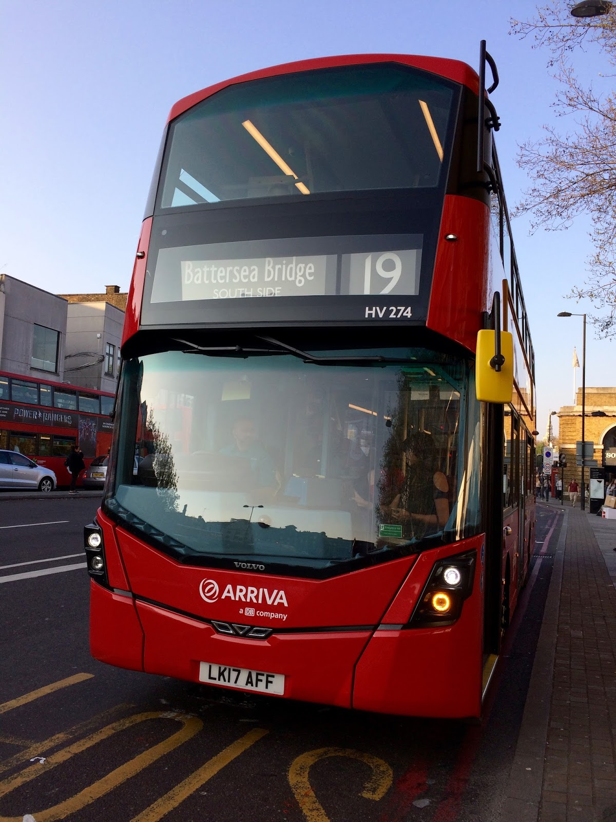 London Buses On The Go: Busageddon: Arriva Central South, In The City