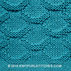 Knitting Stitches Knit And Purl : Scales Knit - Purl stitches