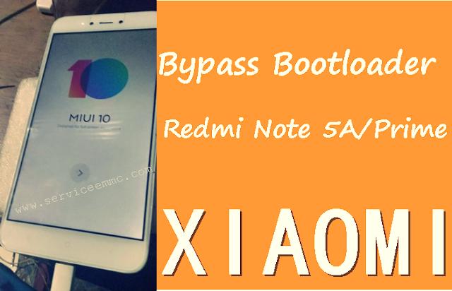 Cara Ubl Redmi NOTE 5A MDG6/Redmi Note 5A Prime Tanpa Request-BYPASS