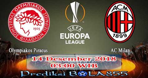 Prediksi Bola855 Olympiakos Piraeus vs AC Milan 14 Desember 2018