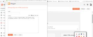 memasang script iklan di blog
