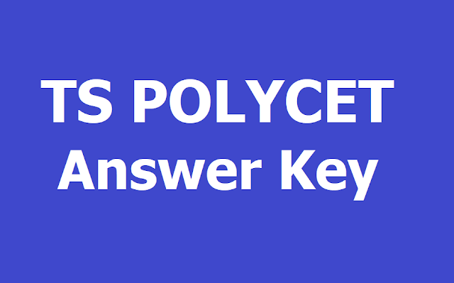 TS POLYCET 2019 Answer key download from polycetts.nic.in