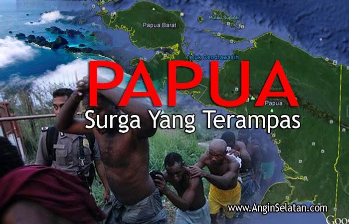 "Lirik Lagu ""Papua Surga Yang Terampas"""