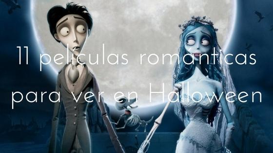 películas románticas para ver en Halloween