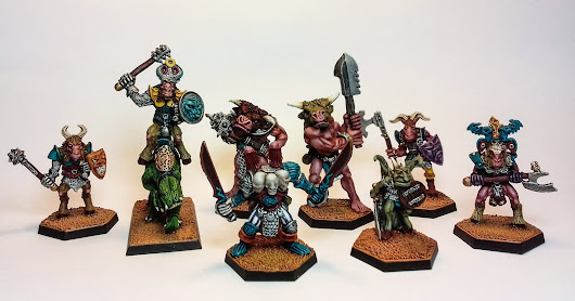 Tzeentch Warband Completed - Two years late!
