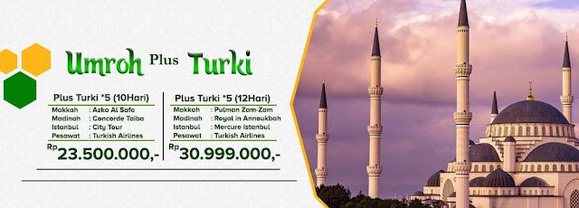 Paket Umrah Plus Turki