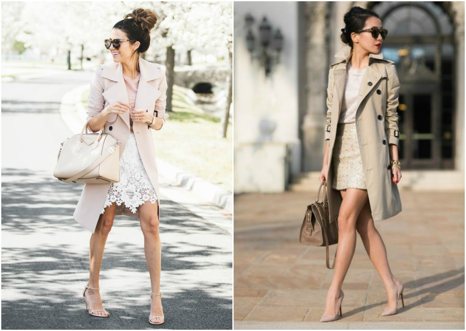 how to style a trench coat special occasions weddings garden parties events