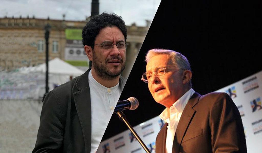 Iván Cepeda demanda a Uribe por acusarle de comprar testigos contra é