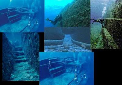 Resultado de imagen de Estructuras subacuáticas inexplicables