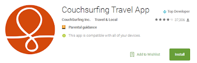 Install: CouchSurfing Mobile App For Android