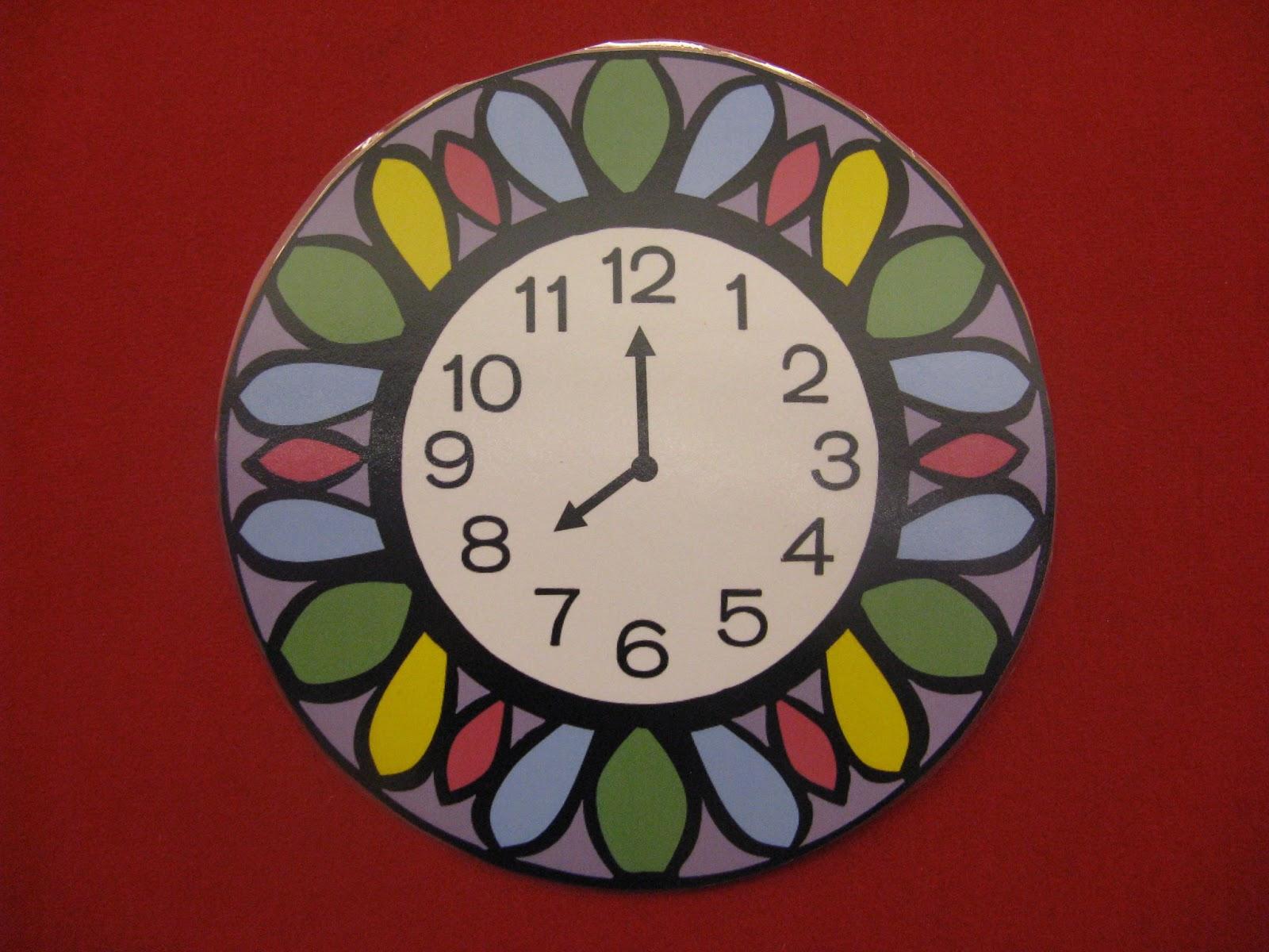 clipart 8 o'clock - photo #28