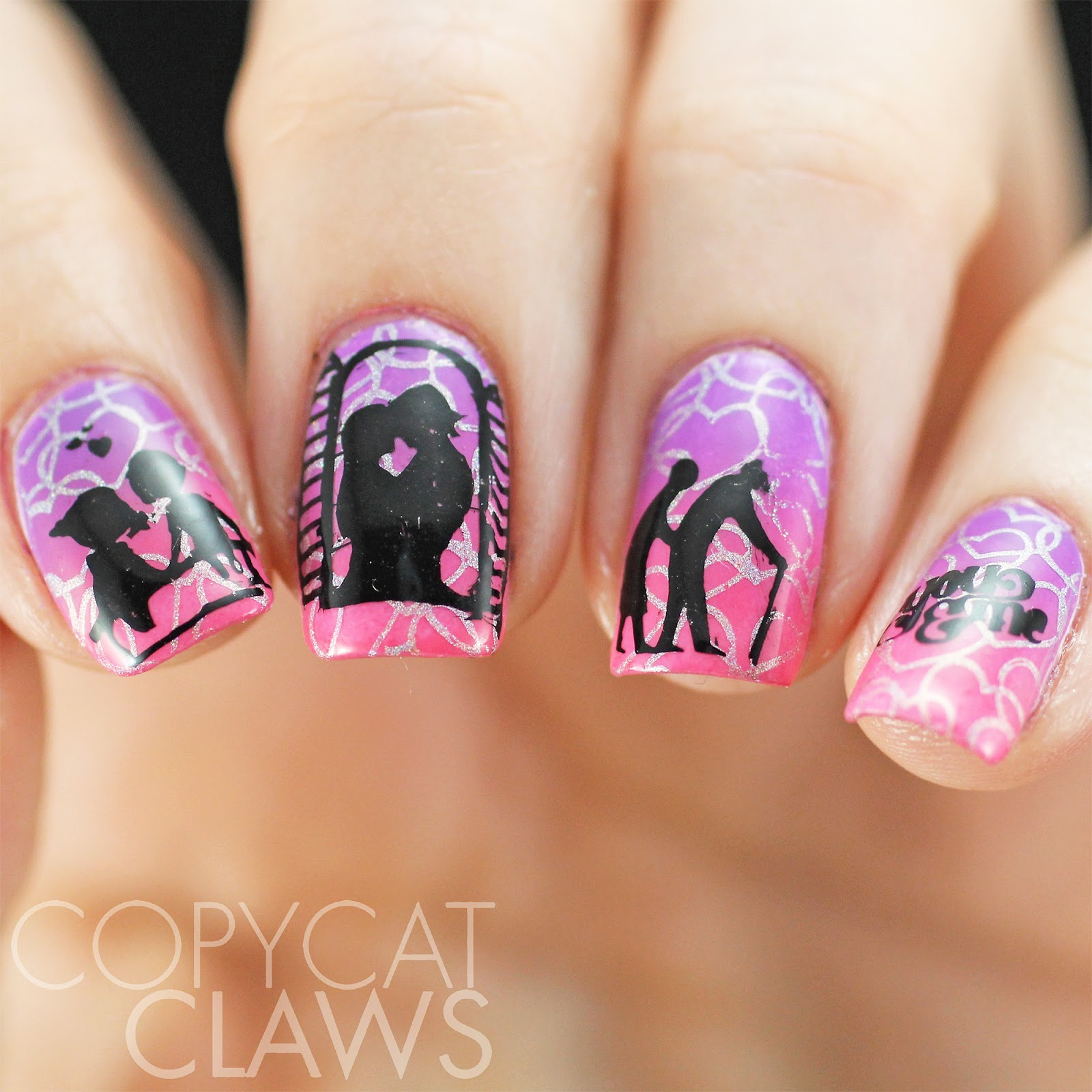 Copycat Claws: 40 Great Nail Art Ideas - Love