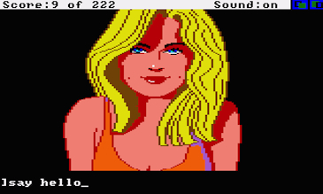 Leisure Suit Larry in the Land of the Lounge Lizards (1987) Amiga
