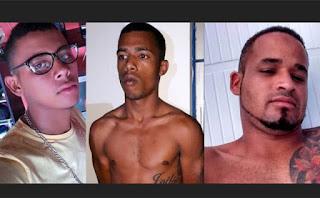 Três suspeitos são mortos