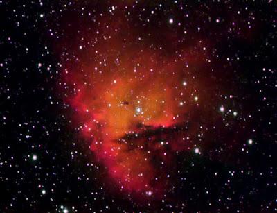 "NGC 281, nebulosa ""Pacman"" a Cas"