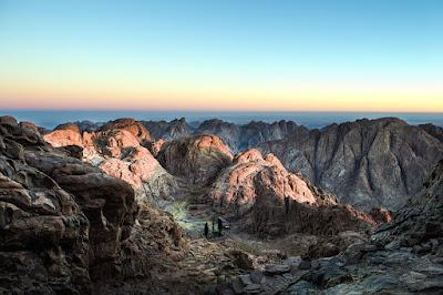 Región del Sinaí, amanecer