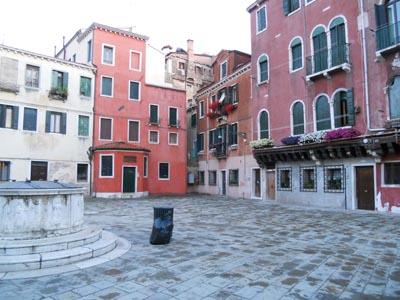ヴェネツィアのゲットー地区