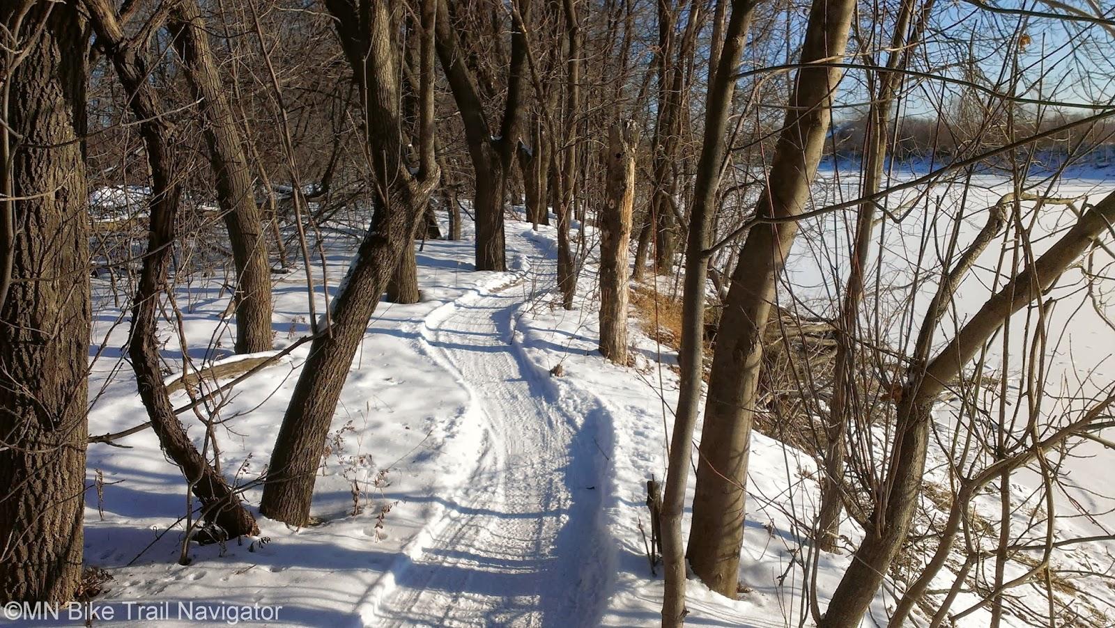 Mn Bike Trail Navigator Winter 13 14 Minnesota Fatbike