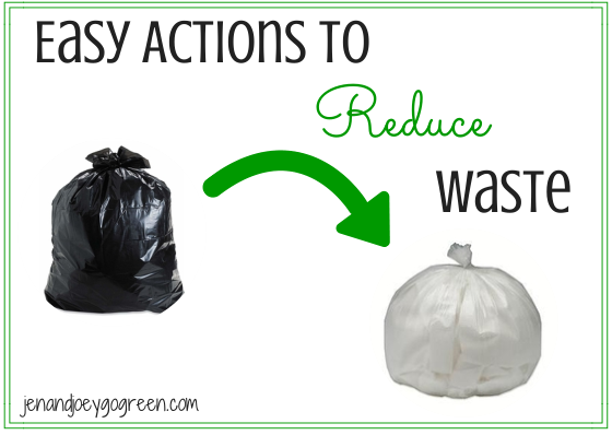 Go Green: Easy Actions to Reduce Waste