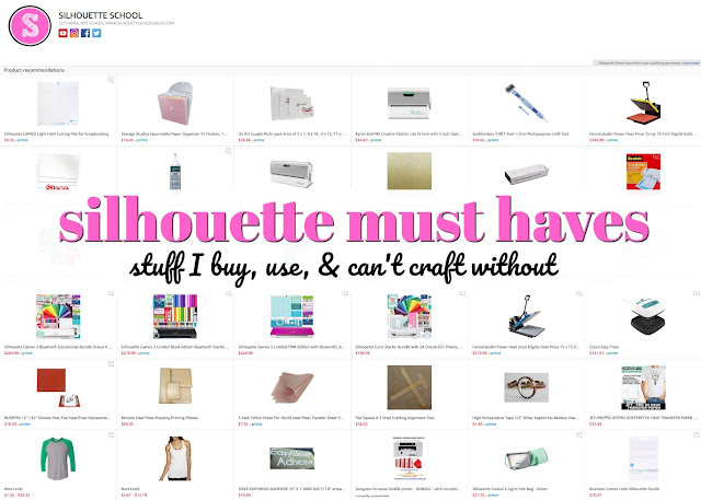 silhouette accesories, silhouette tools to get started, silhouette cameo tools, silhouette cameo beginner