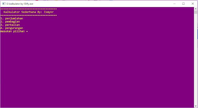 Membuat Aplikasi Kalkulator Sederhana Dengan Bahasa C++ [CODE::BLOCKS]