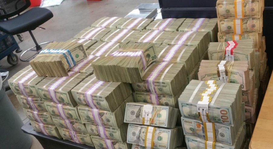 San Diego: 3 Million in transit to Tijuana seized