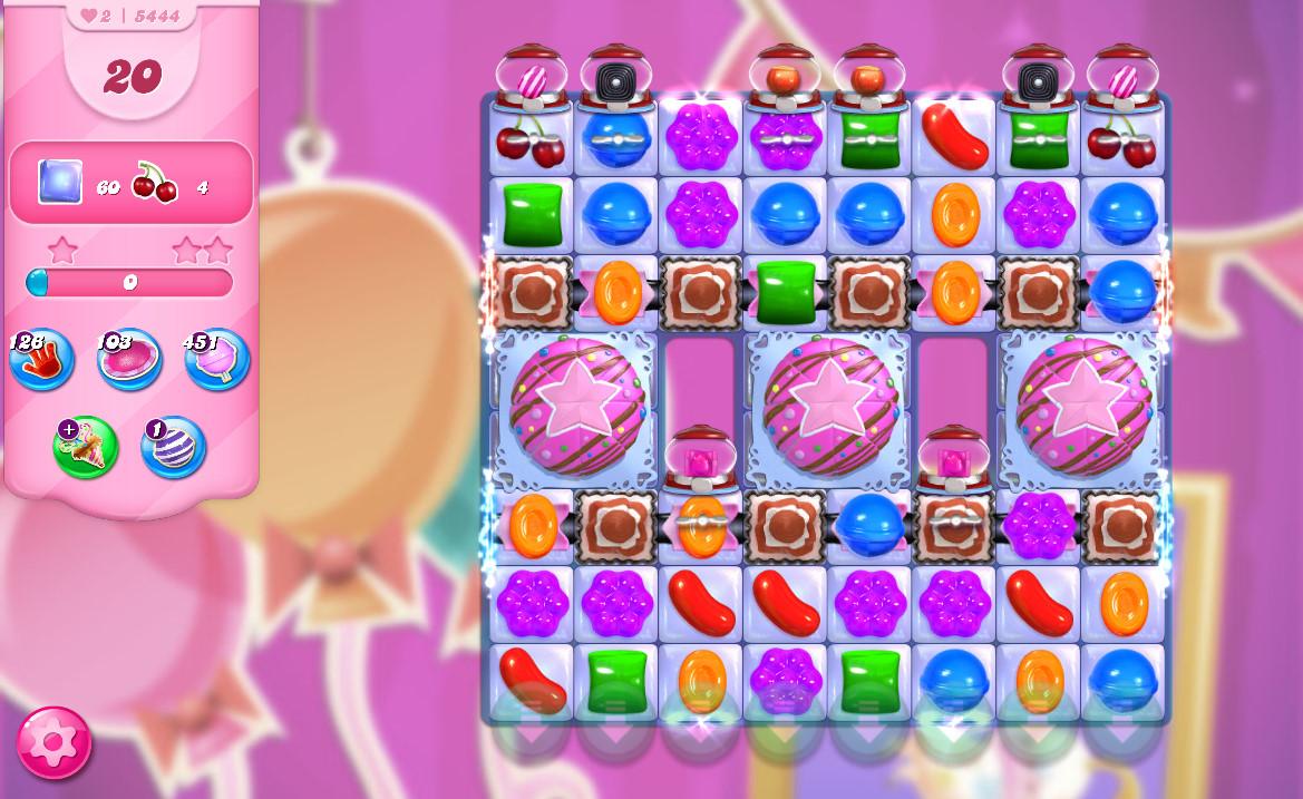 Candy Crush Saga level 5444