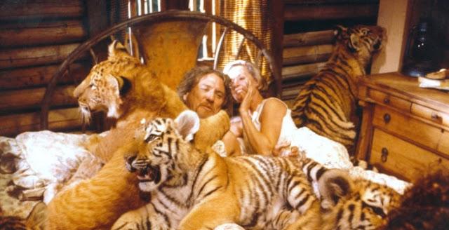 Roar, Film Paling Berbahaya yang Pernah Dibuat