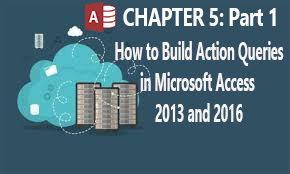 Introduction to advanced queries in ms access 2013 & 2016