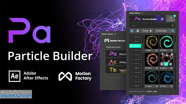 تحميل مجاني حزم الاضافات افتر افكت | Motion Factory v2.39 for AE & PR Win Pro