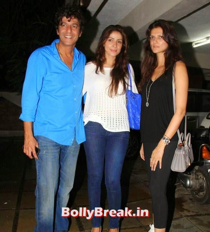 Chunky Pandey, Bhavna Pandey, Nandita Mahtani, Suzzane, Nandita at Abhishek Kapoor Birthday Bash