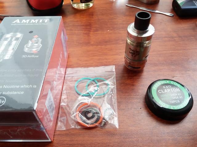 TL điện tử Vape Pico Mega 80W, Pico Mega tank RTA Ammit, pin 26650 4500mah 90A